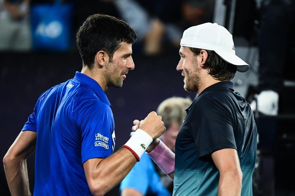 Dominant Djokovic demolishes Pouille to set up Nadal final