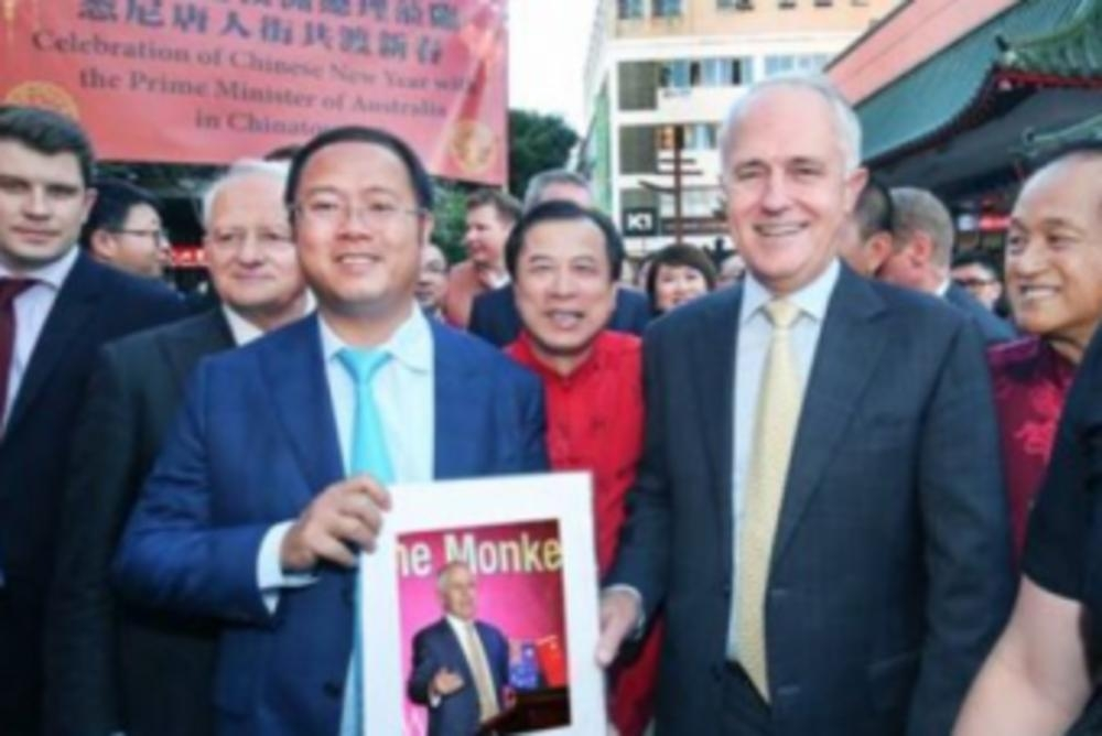 Australia 'revokes visa' of Chinese businessman over promotion of Beijing's interests