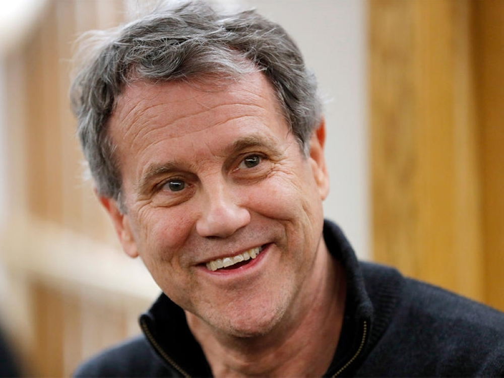 Senator Sherrod Brown is spending the weekend in New Hampshire, a state that holds the second presidential primary contest in 2020 and plays an outsized role in picking the nominee.