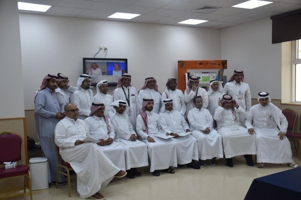 The medial delegation that visited King Fahd Hospital in Jeddah.