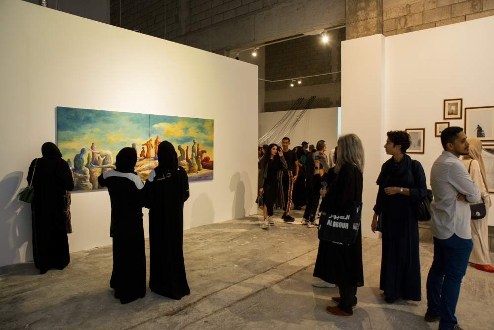 Biggest ever show of contemporary art under way in Jeddah