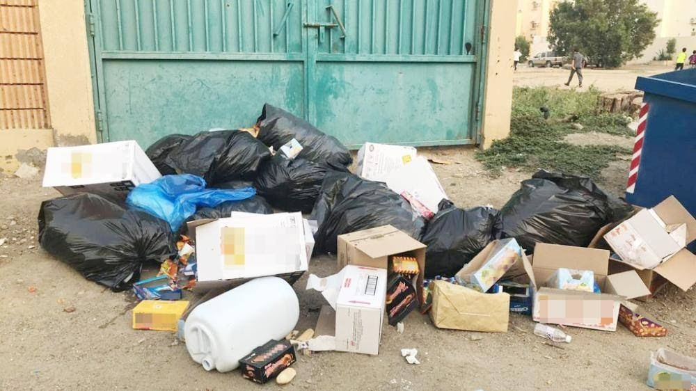Streets of Al-Ajwad in northeast Jeddah are strewn with garbage and the residents say the municipality pays little attention to the problem.