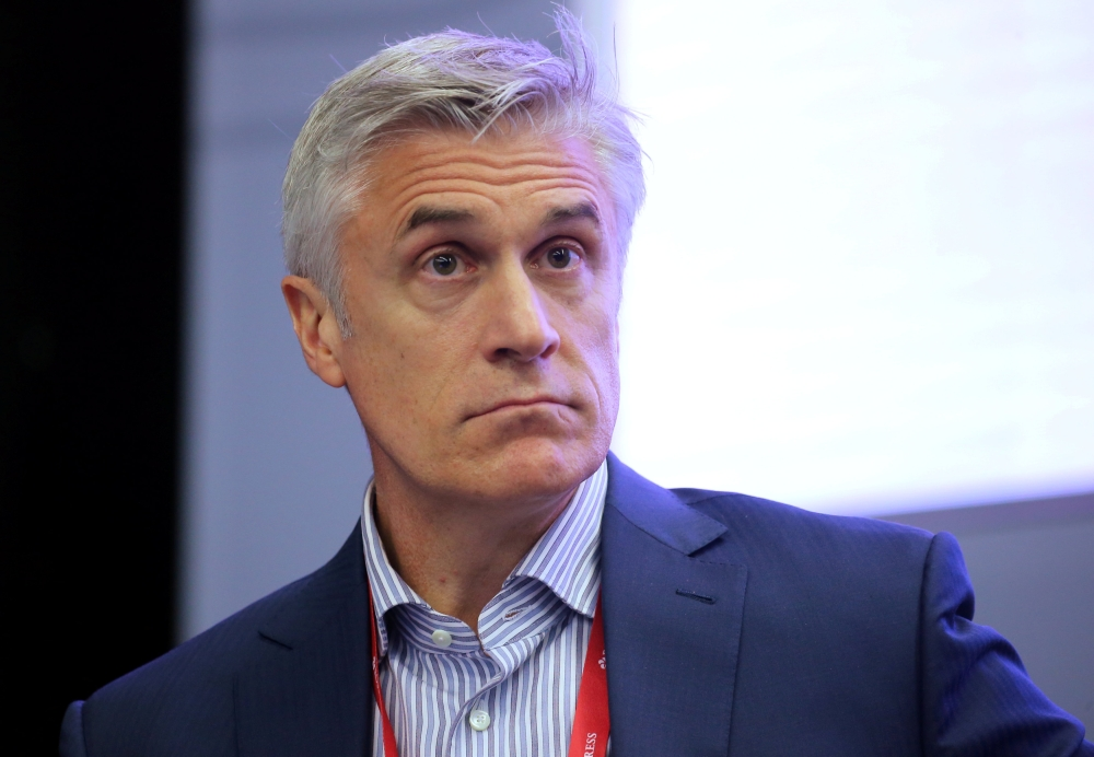 Michael Calvey, senior partner at the Baring Vostok private equity group, attends a session of the St. Petersburg International Economic Forum (SPIEF) in Russia in this May 24, 2018 file photo. — Reuters