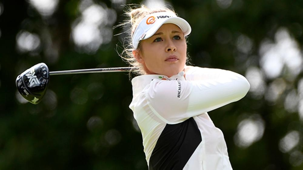 American Nelly Korda takes Australian Open golf lead