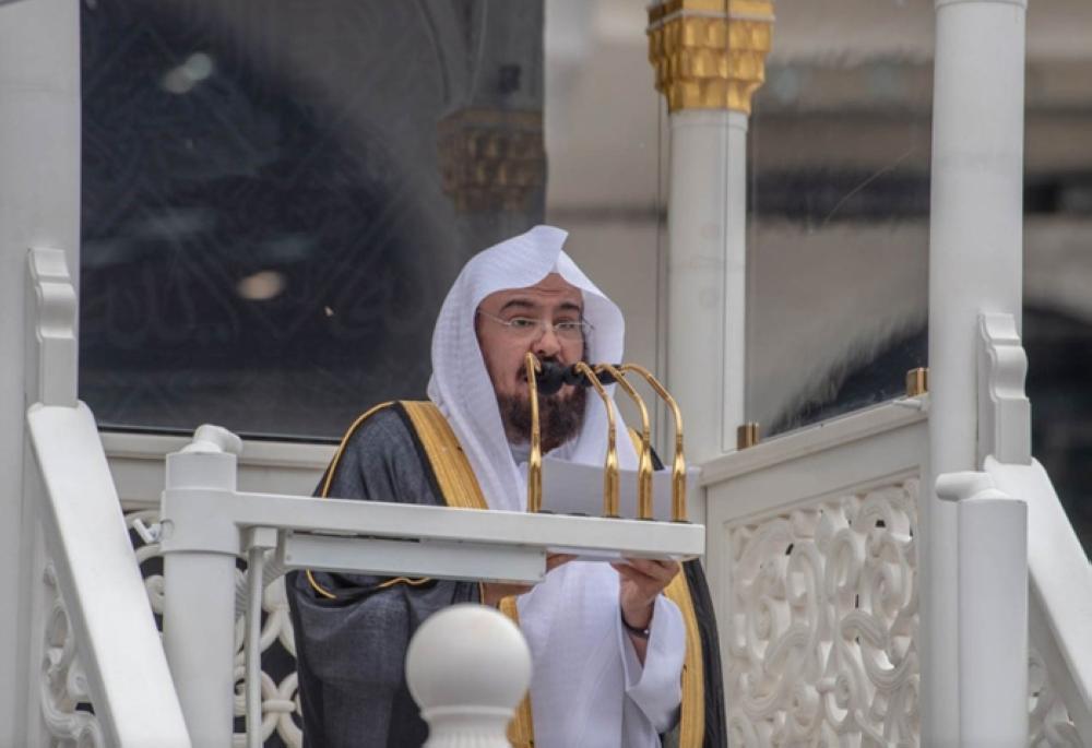 Sheikh Abdulrahman Al-Sudais, Imam and Khateeb of the Holy Mosque in Makkah