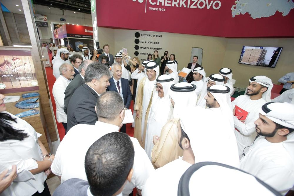 HH SHEIKH HAMDAN BIN RASHID AL MAKTOUM, DEPUTY RULER OF DUBAI AND UAE MINISTER OF FINANCE, OPENS GULFOOD 2019