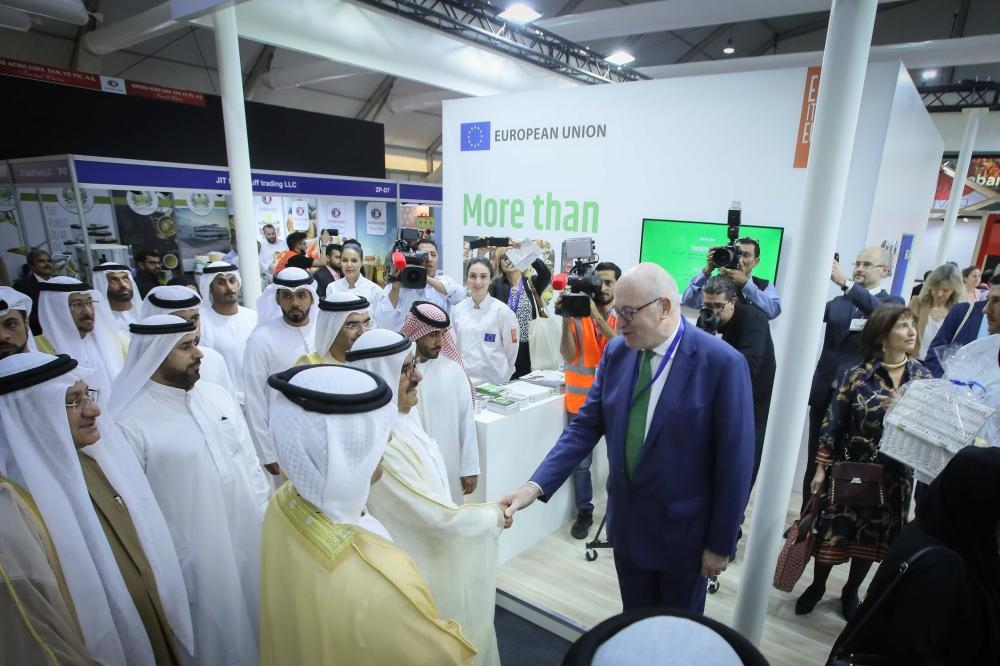 HH SHEIKH HAMDAN BIN RASHID AL MAKTOUM, DEPUTY RULER OF DUBAI AND UAE MINISTER OF FINANCE, OPENS GULFOOD 2019  (3)