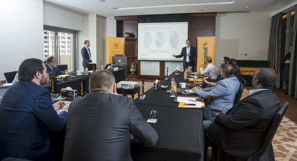 Nikolai Setzer and Jon Ander Garcia talk about Continental's regional plans