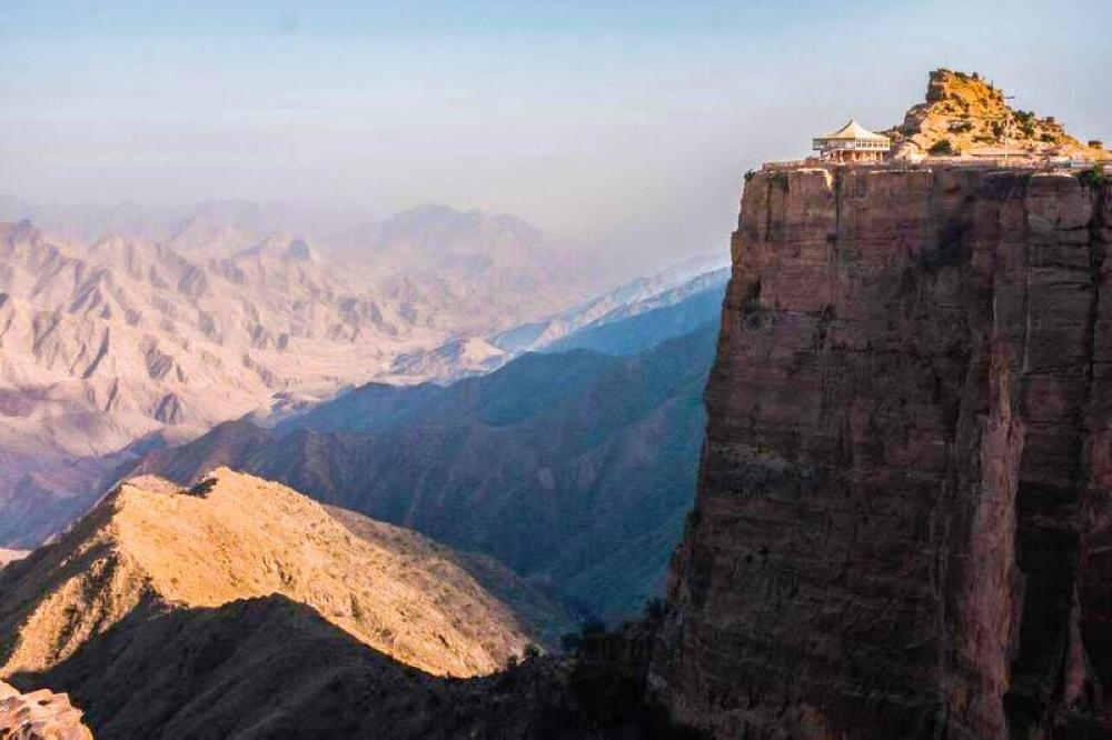Al-Habala, a potential area for tourism development in Asir.