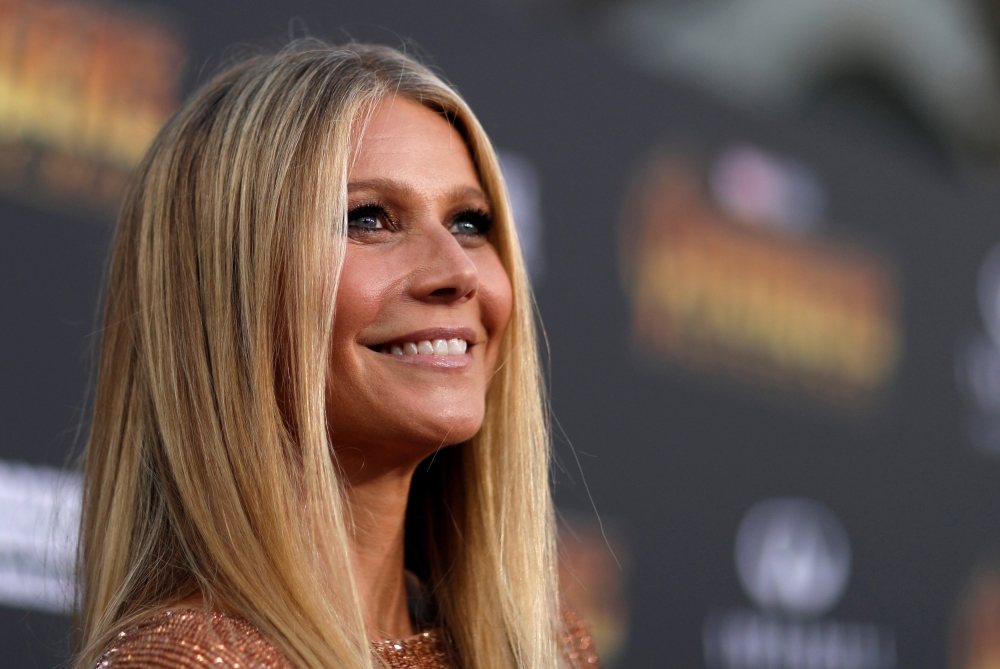 "Actress Gwyneth Paltrow is seen at the premiere of ""Avengers: Infinity War"" in Los Angeles, California, in this April 23, 2018 file photo. — Reuters"