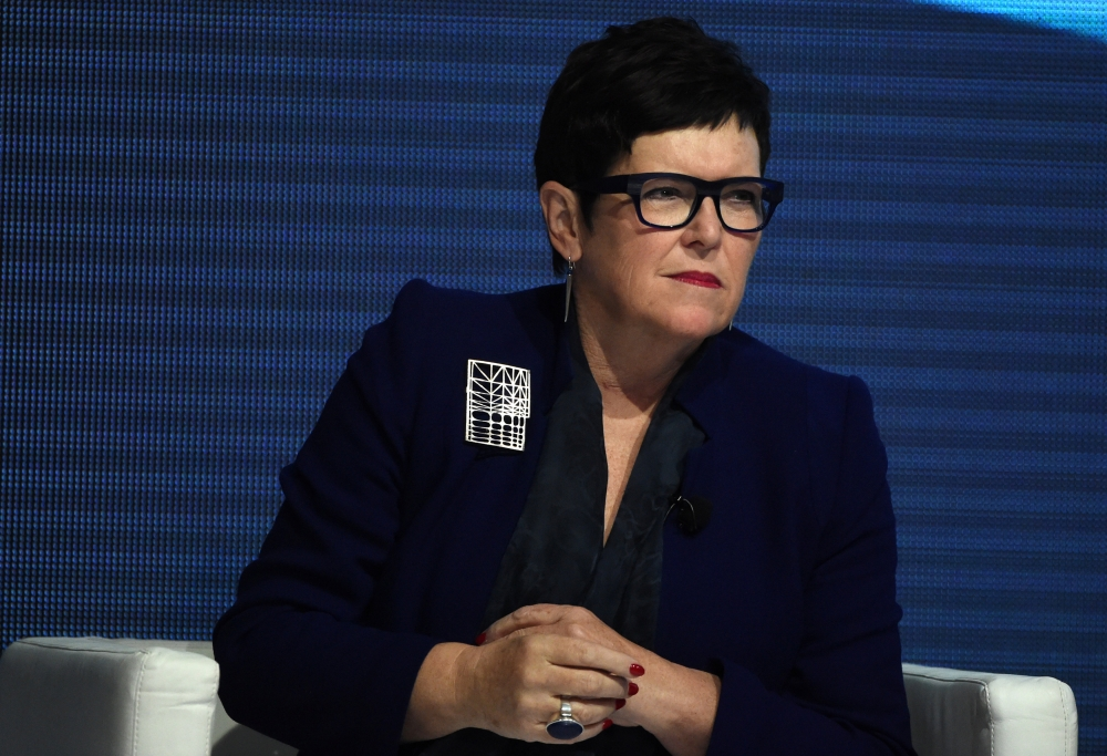 Former Prime Minister of New Zealand Dame Jenny Shipley at the Boao Forum for Asia Conference in Sydney, Australia, in this July 30, 2015 file photo. — Reuters