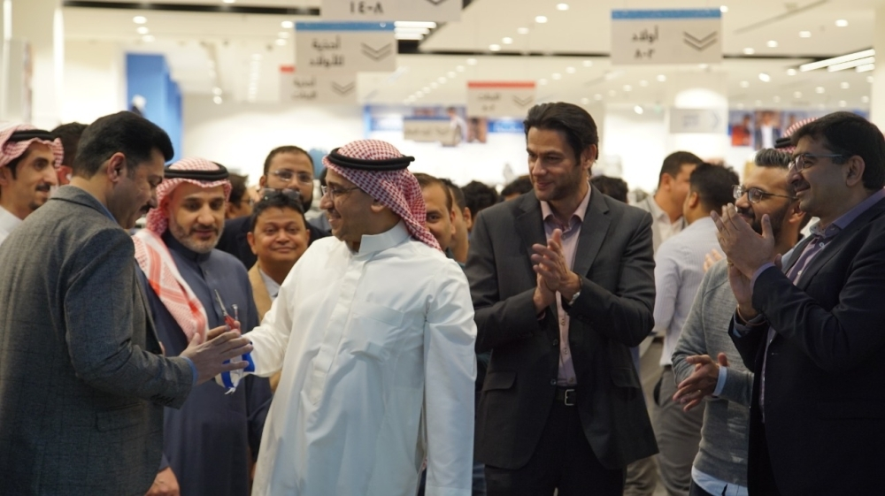 R&B, Apparel Group's most popular fashion retailer offering quality clothing at affordable prices, has opened a store in Al-Qasr Mall in Riyadh. — Courtesy photo
