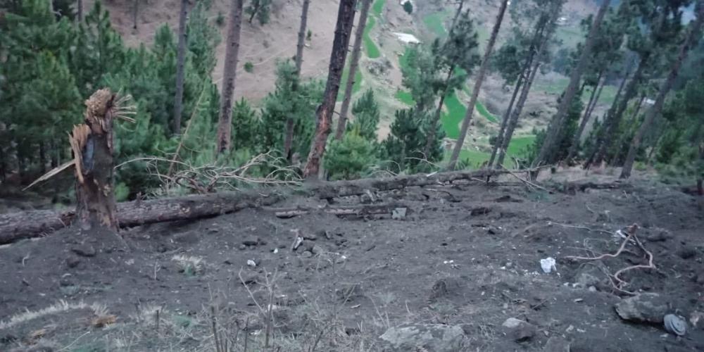Pakistani Villagers Shaken Awake As India Warplanes Drop Bombs Near
