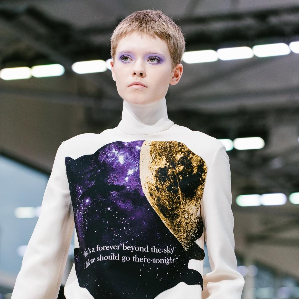 Sheer poetry and romanticism rule the runway