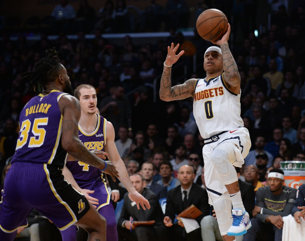 c23a8d8386e Lakers lose as LeBron passes Jordan for career points - Saudi Gazette