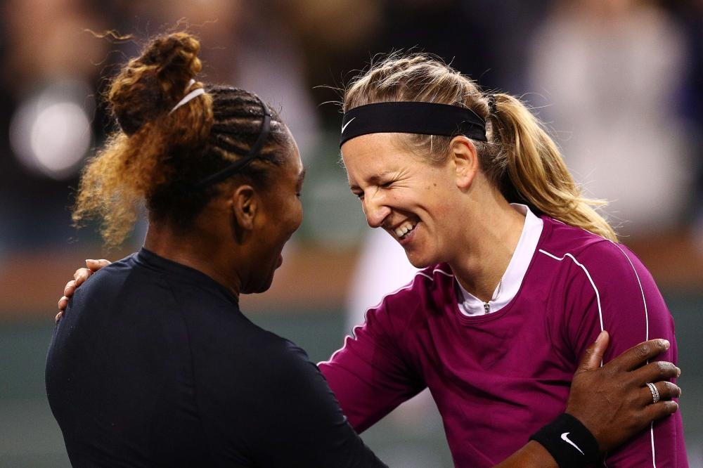 Serena ousts Azarenka in brilliant Indian Wells battle class=