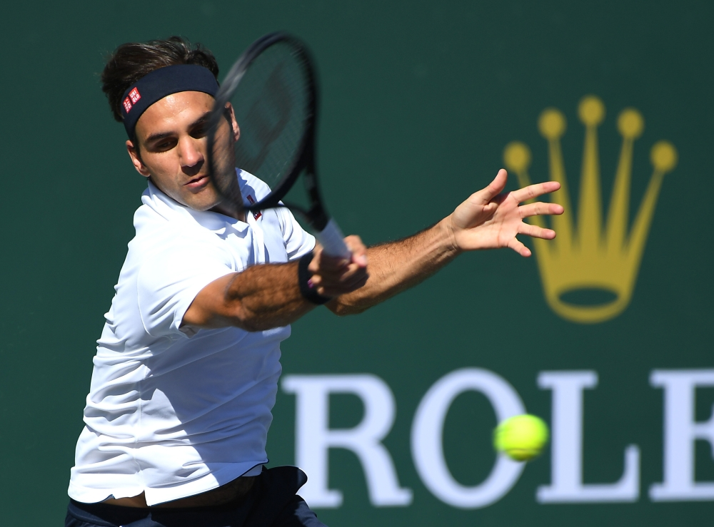 Indian Wells: Roger Federer beats Kyle Edmund to reach quarter-finals