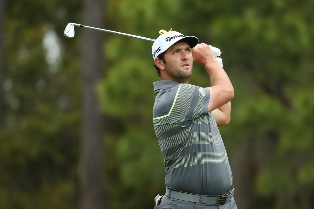 Jon Rahm takes outright lead with 64 at Sawgrass