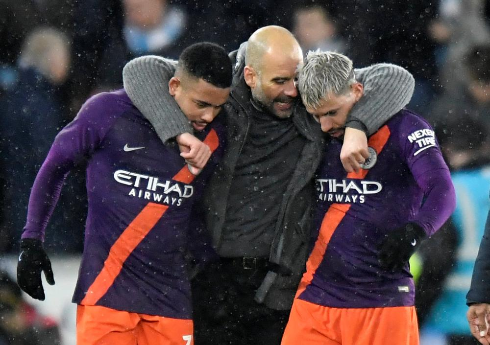Pep Guardiola hopes his Man City players return from international break unscathed