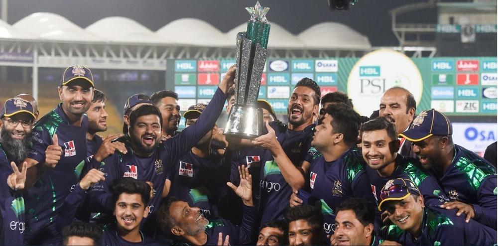 PSL 2019 champions Quetta Gladiators