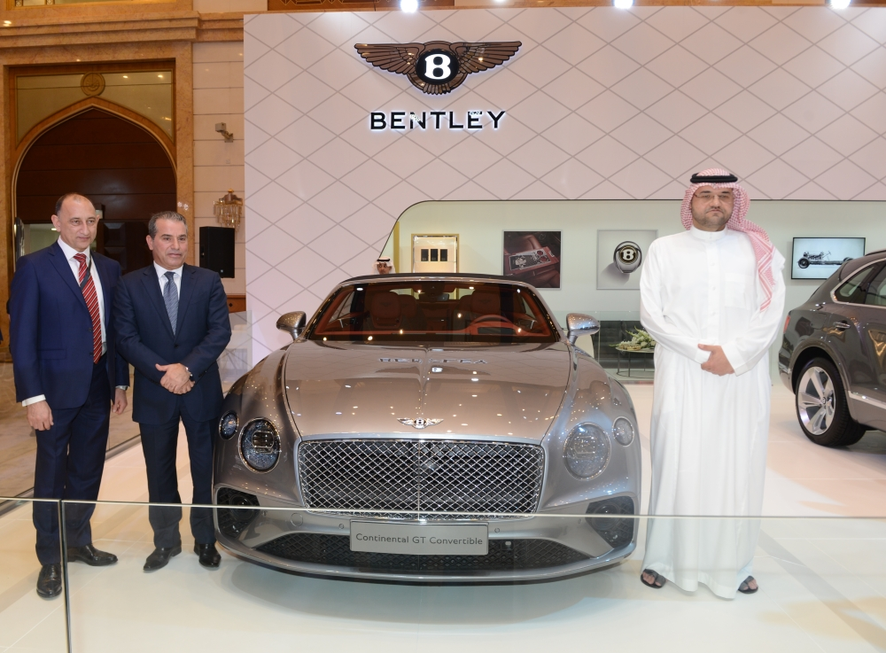 Samaco Automotive Company, exclusive dealer for Bentley in Saudi Arabia, at the 12th session of the International Luxury Motor Show (EXCS). — Courtesy photo