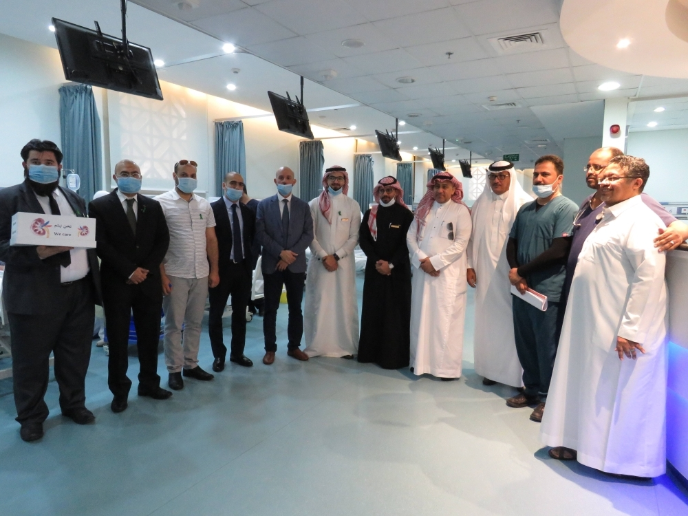 Ascott Jeddah joins forces with Albir Society Jeddah to observe World Kidney Day. — Courtesy photo