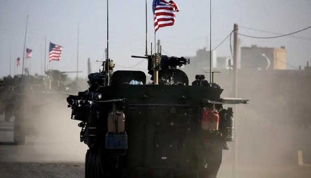 The United States strongly denied Sunday a report that it intended to leave almost 1,000 troops in Syria. — File photo