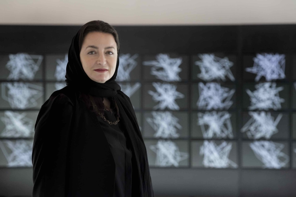 Ithra Prize winner Daniah Alsaleh unveils her completed commission at Art Dubai