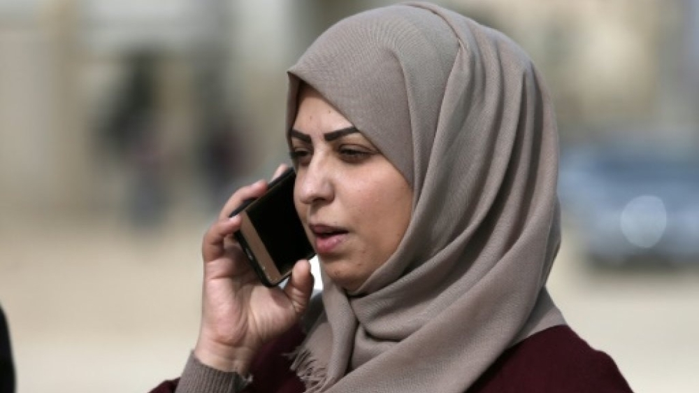 Hajar Harb won an appeal over a graft report in which she claimed that doctors were writing false reports to allow people leave the Israeli-blockaded Gaza Strip for treatment. — AFP