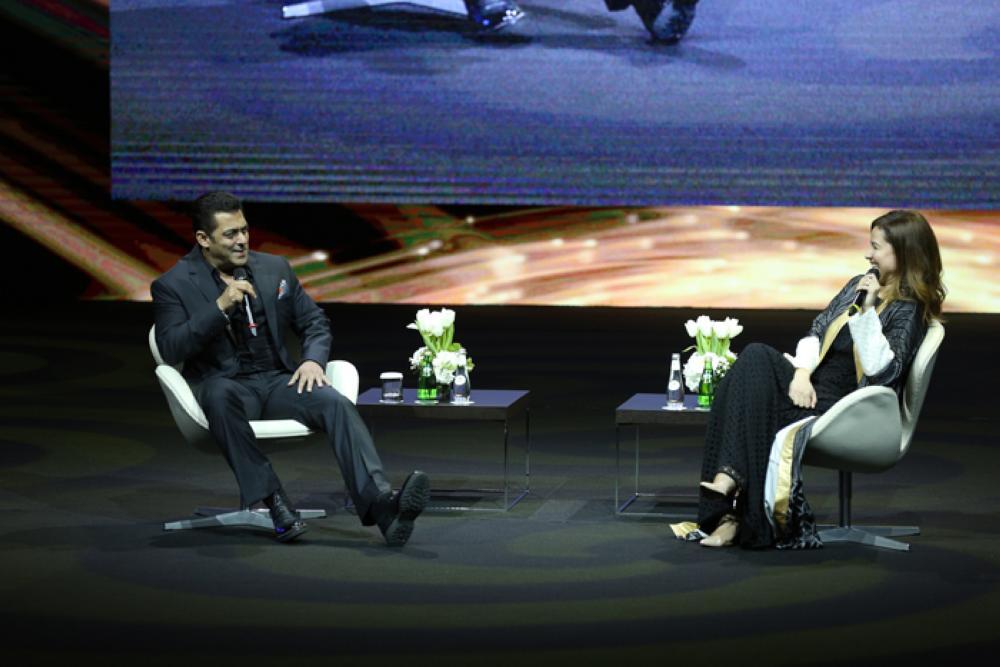 Bollywood Star Salman Khan dazzles at Ithra as part of Sharqiah Season