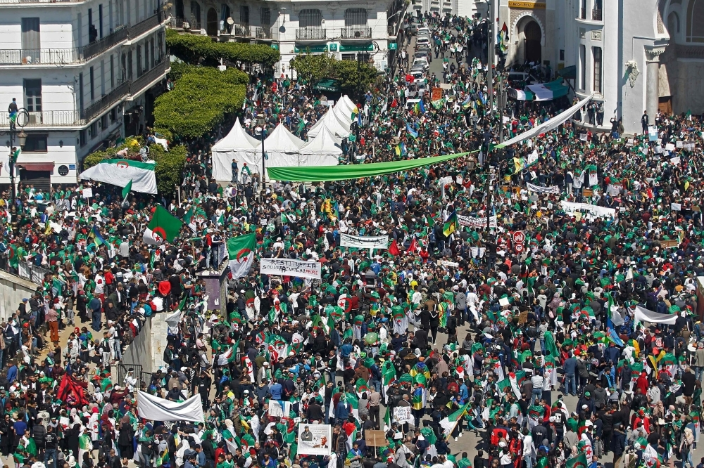 Algeria authorities deny Algiers protest drew one million demonstrators