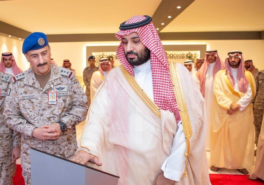 Crown Prince lays foundation stone for Air Warfare Center in EP