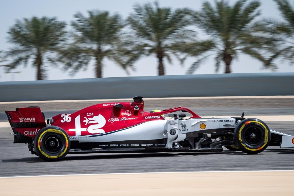 Mick Schumacher second fastest at Bahrain F1 test in Ferrari