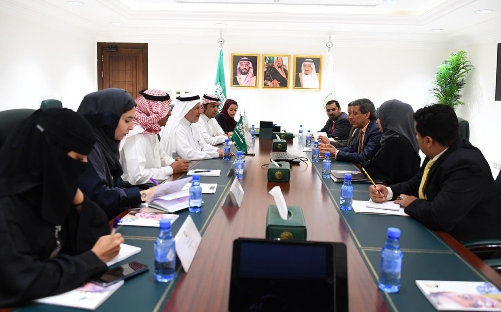 Rabeeah holds talks with Yemen minister