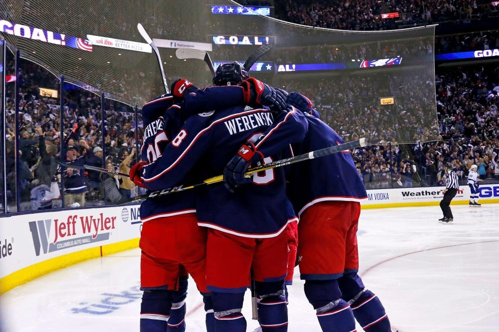 Blue Jackets advance after sweep of mighty Lightning