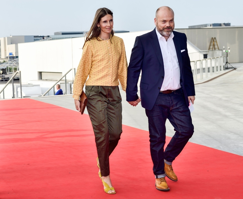 Bestseller-owner Anders Holch Povlsen and his wife Anne Holch Povlsen arrive at the celebration of the 50th birthday of Crown Prince Frederik of Denmark in Royal Arena in Copenhagen, Denmark, in this May 27, 2018 file photo. — AFP