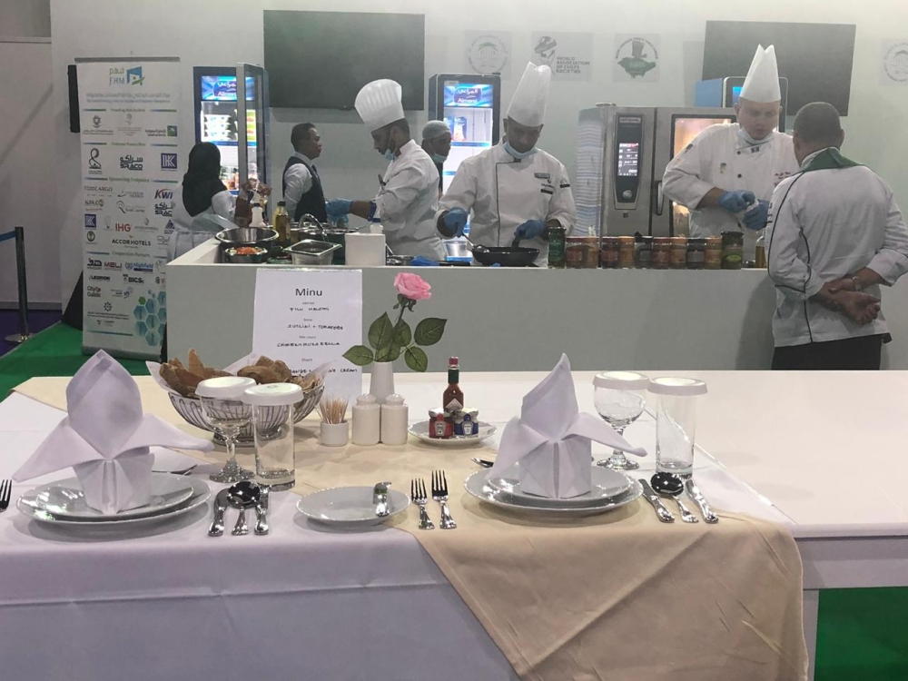 The Hotel Show also hoststhe 3rd 'Inter-Hotel Culinary Competition