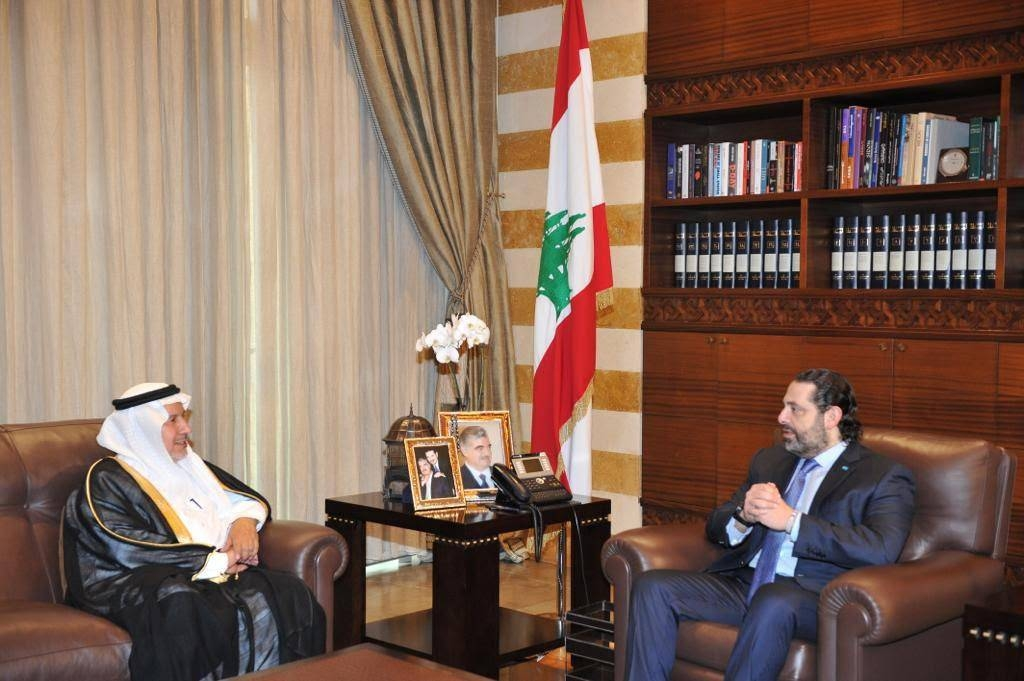Al-Rabeeah discusses KSrelief projects in Lebanon with Hariri