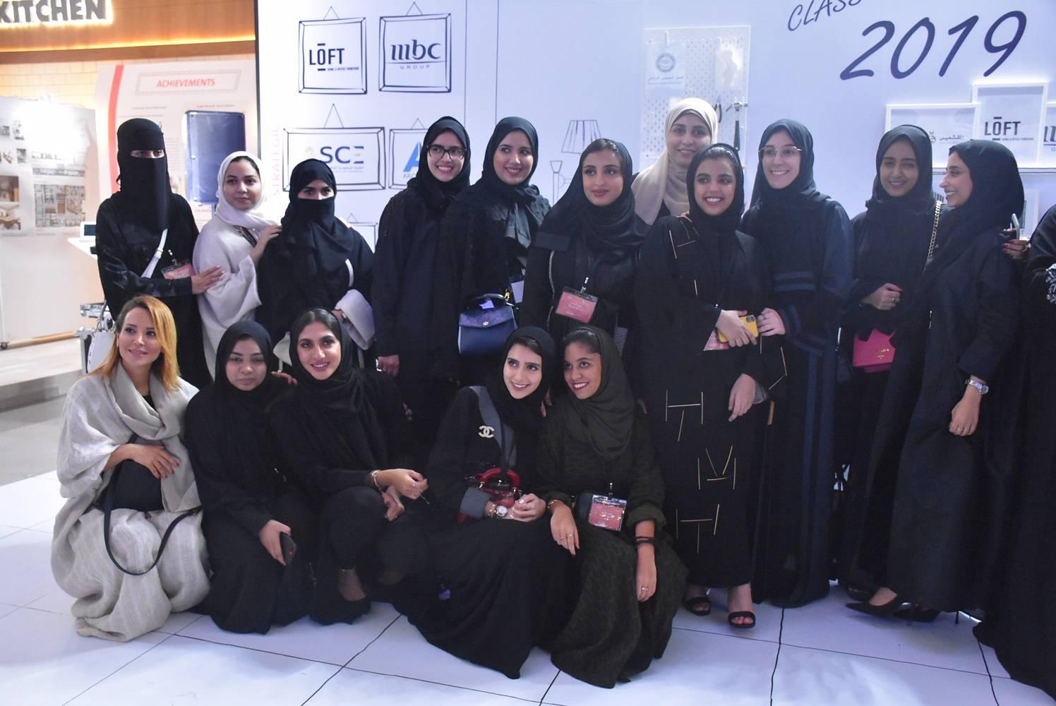 Dar Al Hekma Seniors Captivate Visitors To Interior Design Expo With Creative Skills Saudi Gazette