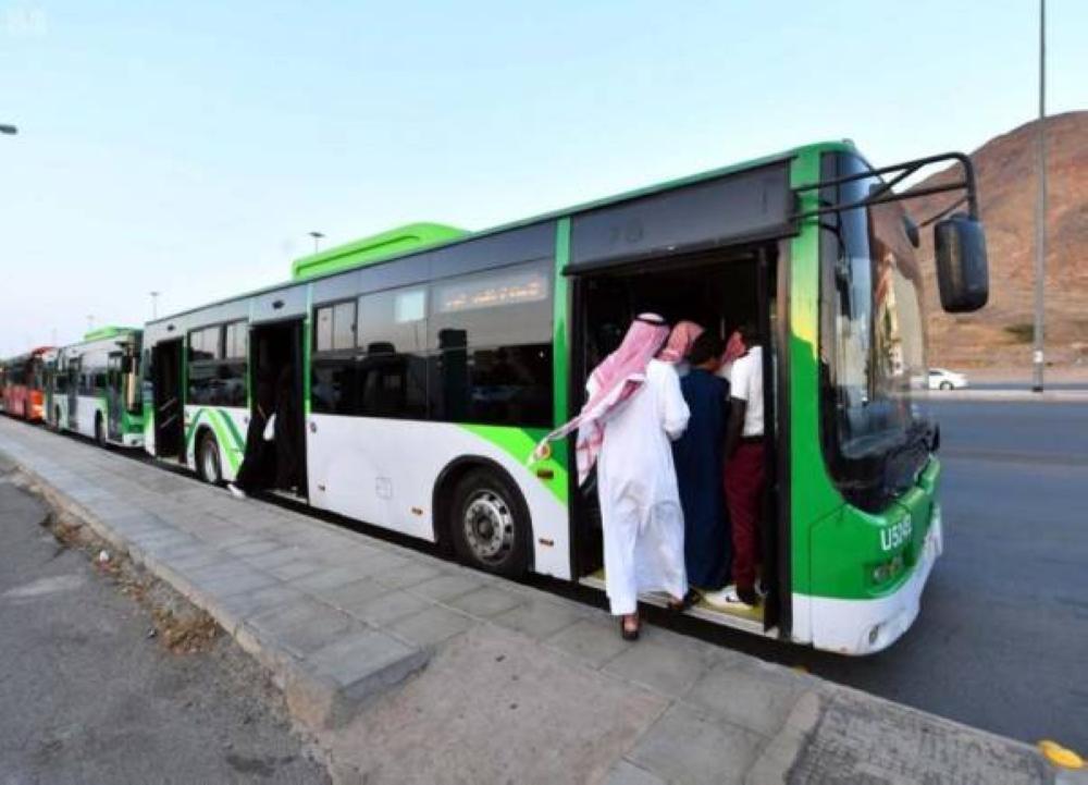 8 million people use Makkah shuttle bus service in six days