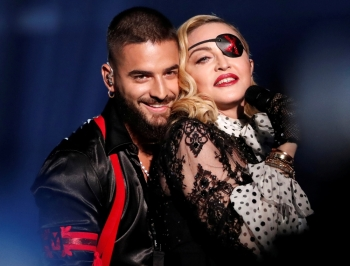 Madonna performs with Maluma during Billboard Music Awards show in Las Vegas, Nevada, in this May 1, 2019 file photo. — Reuters