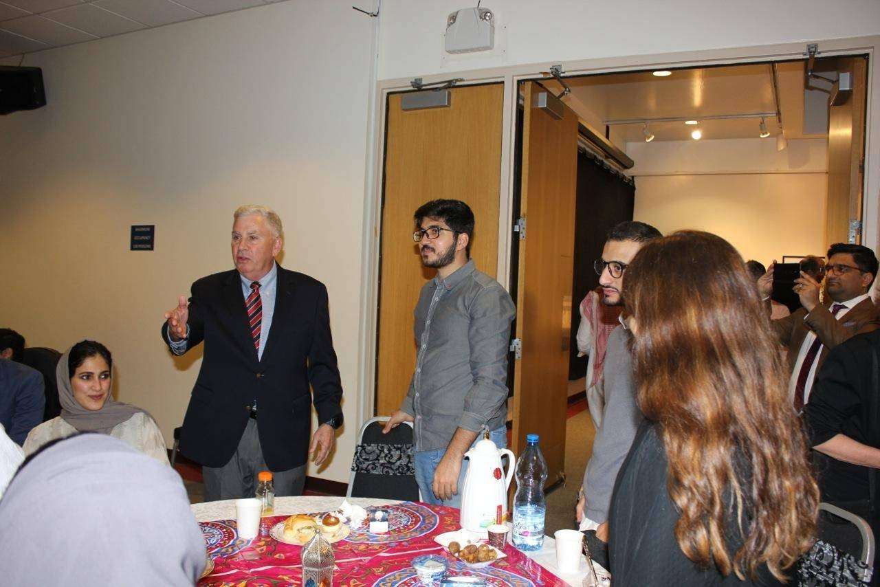 US ambassador attends iftar promoting youth engagement