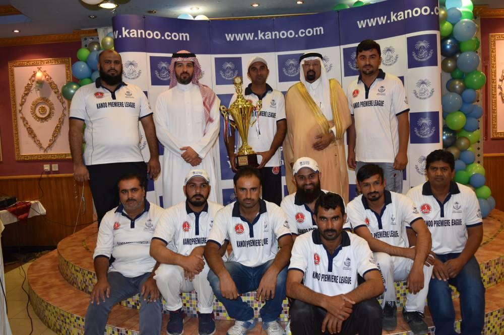 Saudi Oil Team - Runner up of Kanoo Premier Cup 2018-19 with Ahmed Kanoo and Dr. Faiz Al Abideen