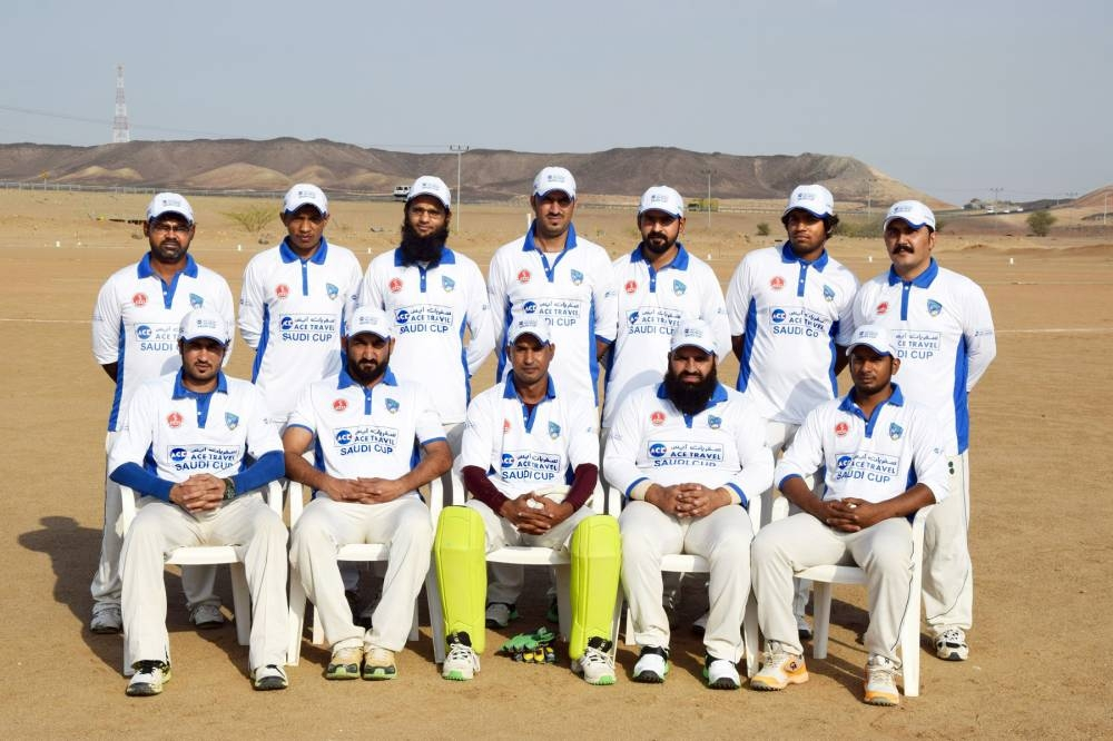 Makkah Eagles Team Group Photo.