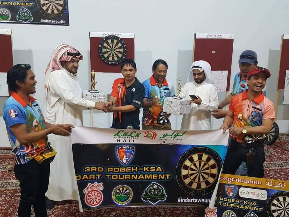3rd PDBEH darts tournament concludes - Saudi Gazette