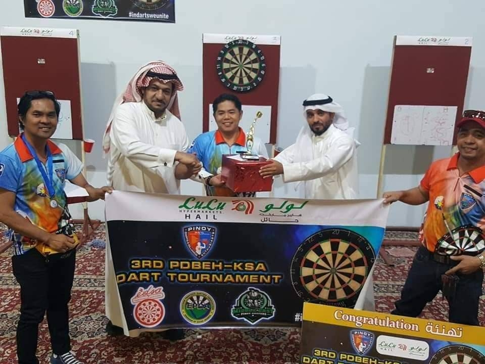 3rd PDBEH darts tournament concludes - Saudi Gazette