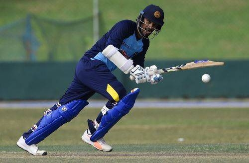 Skipper Dimuth Karunaratne top-scored with 77 as Sri Lanka snapped an eight-match oODI losing streak ahead of the World Cup with a 35-run win over Scotland in a rain-affected match in Edinburgh on Tuesday. — AFP