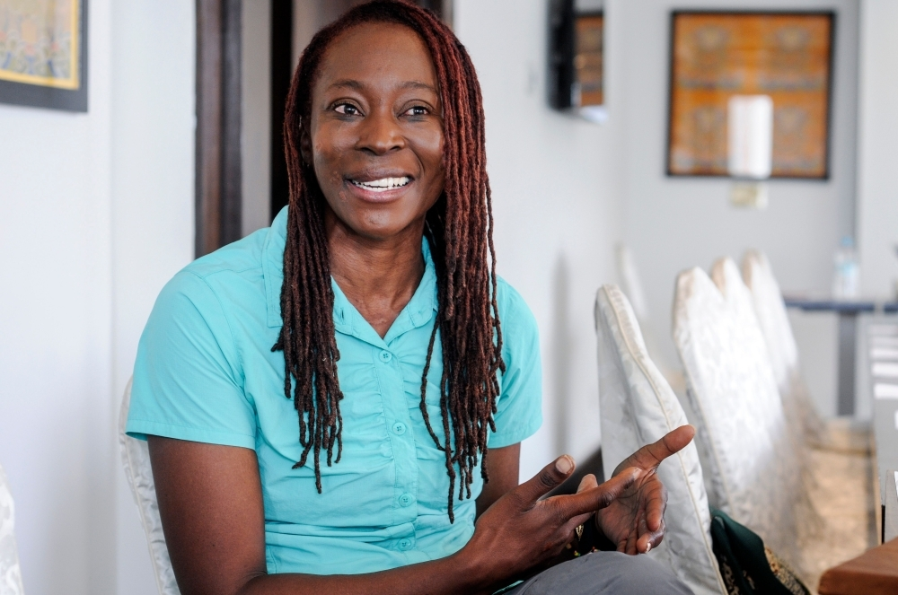South African climber Saray Khumalo speaks to AFP in an interview in Kathmandu on Thursday, after her record breaking climb to be the first black African woman to summit Everest. The business executive who became the first black African woman to climb Mount Everest said that knowing her climb would be in the record books helped her push on to the top. — AFP