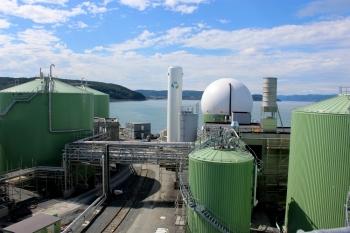 Biokraft biogas factory in Skogn, Norway is seen in this undated handout photo. — Reuters