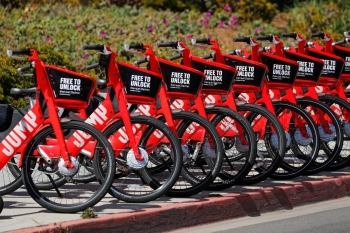 Taxi app Uber will pilot its electric bicycle service JUMP in London from Friday as it makes 350 bikes available to rent in a part of Britain's capital city, a key global market for the firm. — Reuters